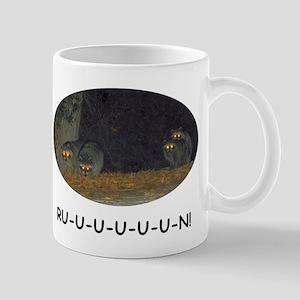 Zombie Raccoons 11 oz Ceramic Mug