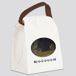 Zombie Raccoons Canvas Lunch Bag
