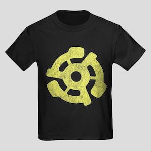 Vintage 45 RPM Kids Dark T-Shirt
