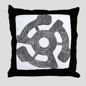 Vintage 45 RPM Throw Pillow