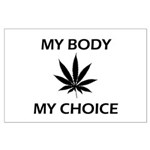 Drug Choice Large Poster