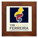 Tim 2018 - Timnado Portrait Framed Tile