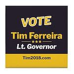 Tim 2018 - Vote Tile Coaster