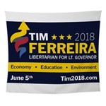 Tim 2018 - Sign Wall Tapestry