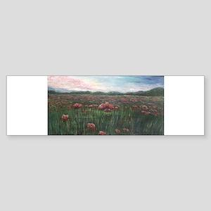 French Poppies Bumper Sticker