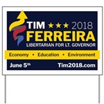 Tim 2018 - Sign Yard Sign
