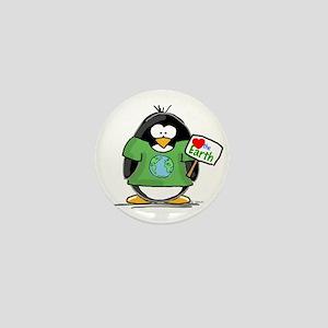 Love the Earth Penguin Mini Button