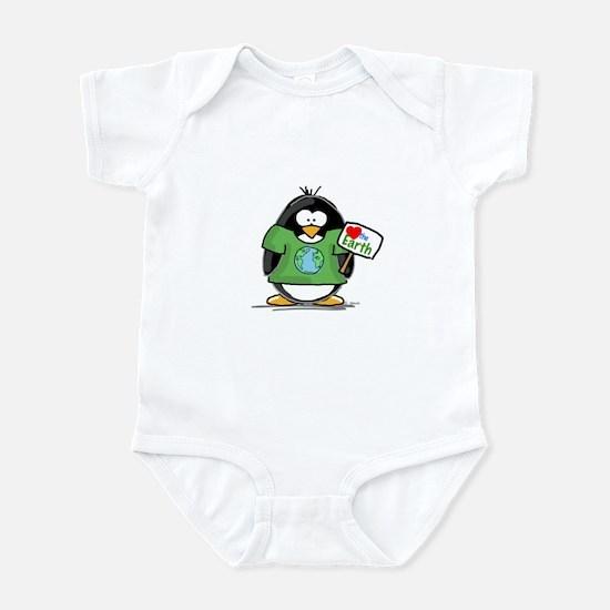 Love the Earth Penguin Infant Bodysuit
