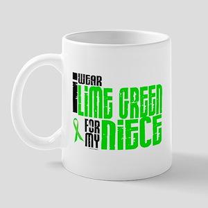 I Wear Lime Green For My Niece 6 Mug