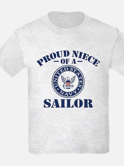 Proud Niece Of A US Navy Sailor T-Shirt