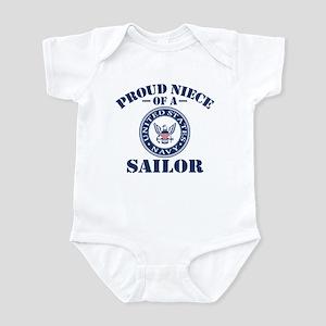Proud Niece Of A US Navy Sailor Infant Bodysuit