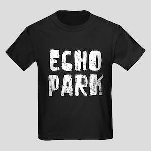 Echo Park Faded (Silver) Kids Dark T-Shirt