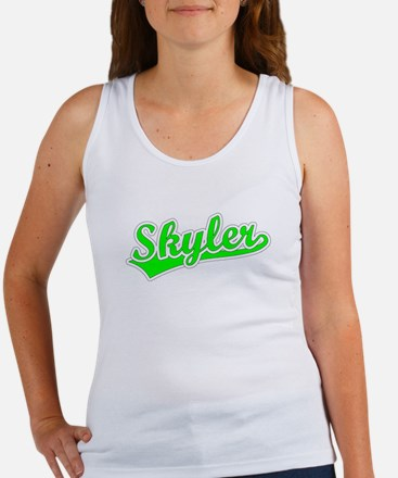Retro Skyler (Green) Women's Tank Top