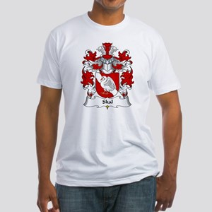 Skal Family Crest Fitted T-Shirt