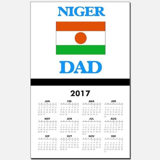 Niger Dad Calendar Print