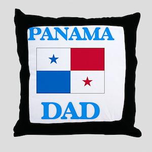 Panama Dad Throw Pillow