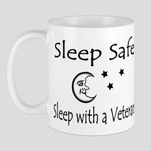 Sleep Safe Sleep with a Veteran Mug