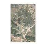 Birds Eye view of Hyak area-Mini Poster Print