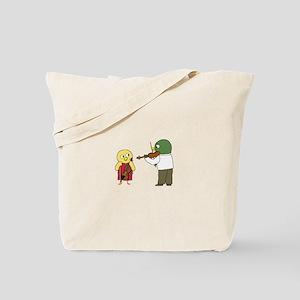 Violin Lesson Tote Bag