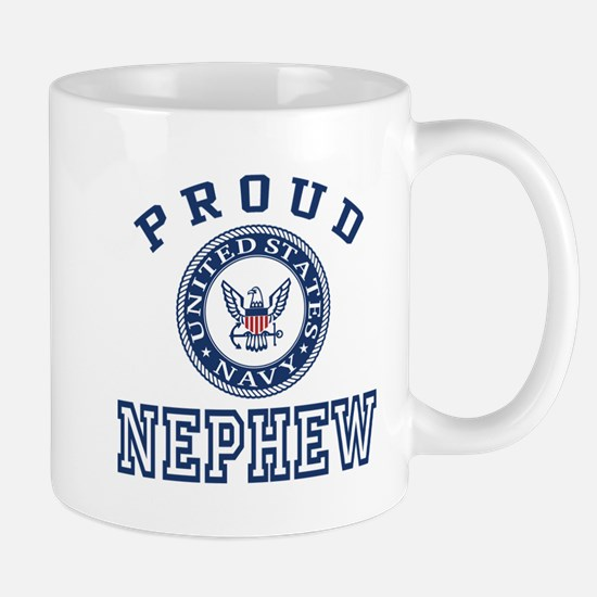 Proud US Navy Nephew Mug