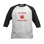 Drug Choice Kids Baseball Jersey