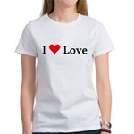 I Love Love Women's T-Shirt