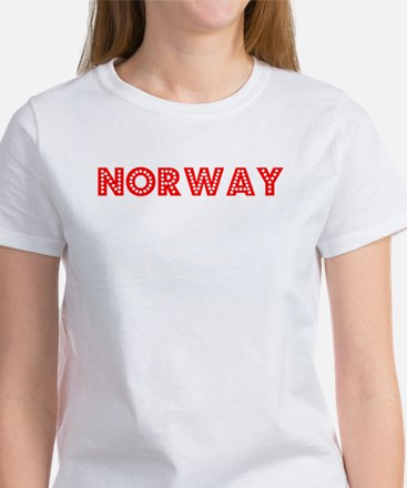 Retro Norway (Red) Women's T-Shirt