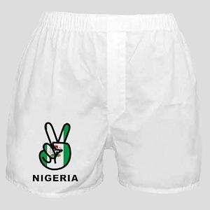 Nigeria Peace Boxer Shorts