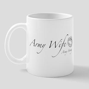 Army Wife, Army Strong Mug