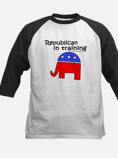 Republican in Training Kids Baseball Jersey