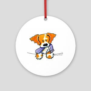 Pocket Pup Brittany Keepsake (Round)