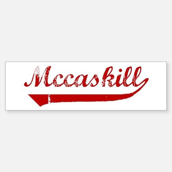 Mccaskill (red vintage) Bumper Bumper Bumper Sticker