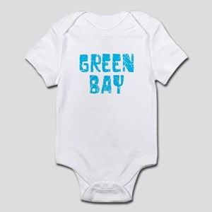 Green Bay Faded (Blue) Infant Bodysuit