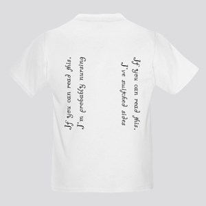 Breasts w/nursing back  Kids T-Shirt