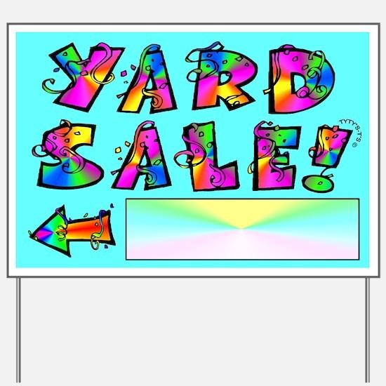 Yard Sale Sign (Left Arrow)