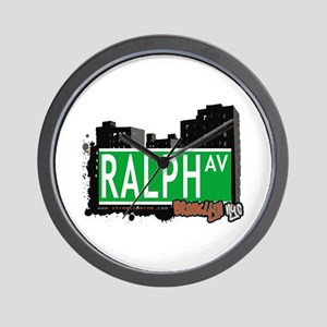 RALPH AV, BROOKLYN, NYC Wall Clock