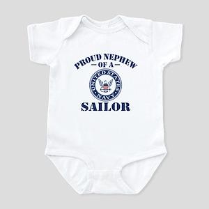 Proud Nephew Of A US Navy Sailor Infant Bodysuit
