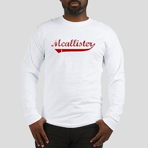 Mcallister (red vintage) Long Sleeve T-Shirt