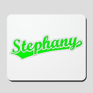 Retro Stephany (Green) Mousepad
