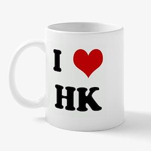 I Love HK Mug