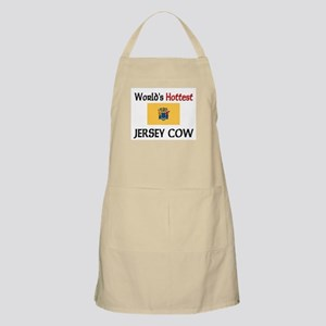 World's Hottest Jersey Cow BBQ Apron