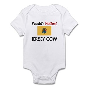 Jersey Cow Baby Clothes Accessories Cafepress