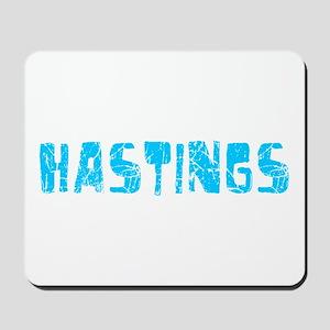 Hastings Faded (Blue) Mousepad