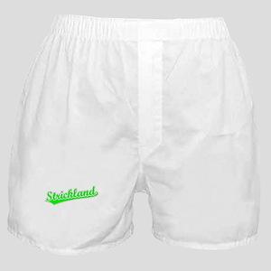 Retro Strickland (Green) Boxer Shorts