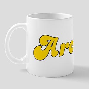 Retro Arcadia (Gold) Mug