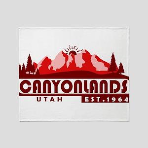 Canyonlands - Utah Throw Blanket