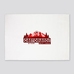 Canyonlands - Utah 5'x7'Area Rug