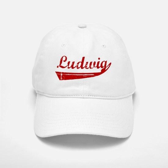 Ludwig (red vintage) Baseball Baseball Cap