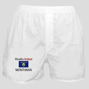 World's Hottest Montanan Boxer Shorts