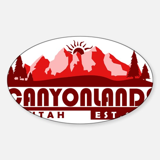 Canyonlands - Utah Decal